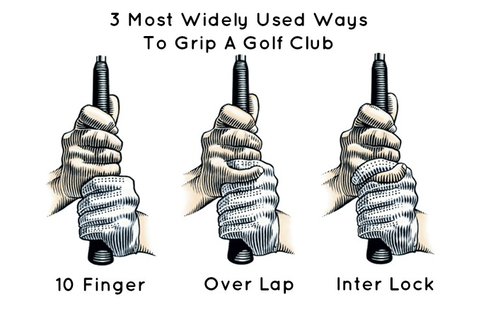 Golf-Grip-3-types